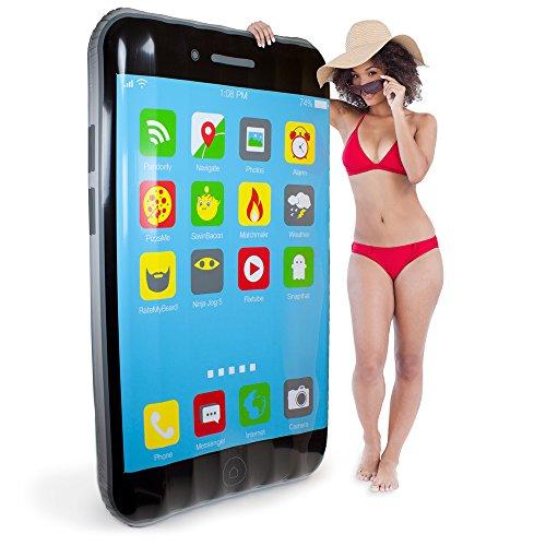 Sol Coastal 55-Foot Jumbo iPool Smartphone Swimming Pool Float Inflatable Water Raft