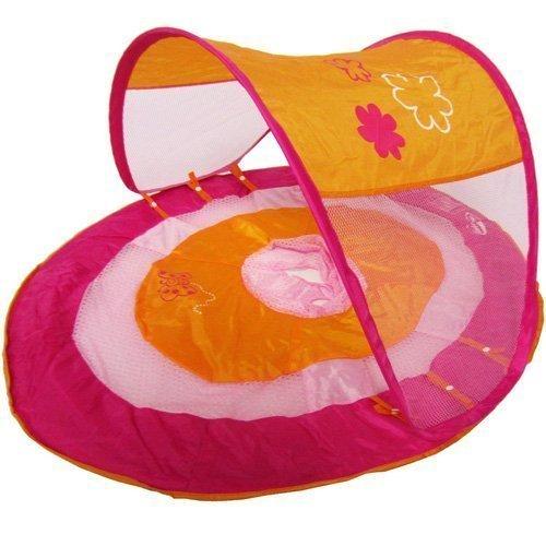 Swim Ways Swimways Baby Spring Float Sun Canopy With Pink Butterfly by SWIM WAY
