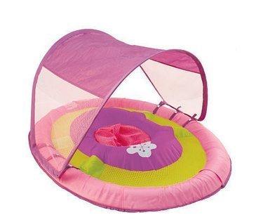 SwimWays Baby Spring Float Sun Canopy Purple