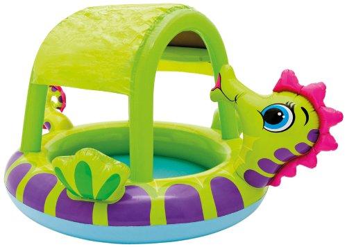Intex Seahorse Baby Pool 30 Gallon Cap