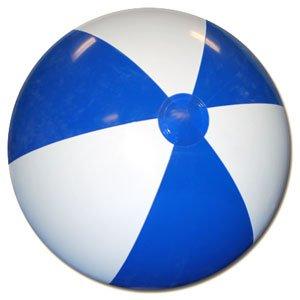 Beachballs - 36 Blue White Beach Ball