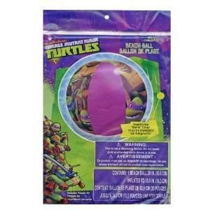 Teenage Mutant Ninja Turtles Inflatable 20 Beach Ball - TMNT Boys Pool Toy
