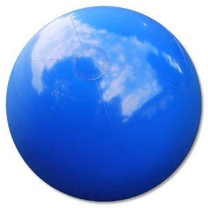 Beachballs - 36 Solid Blue Beach Balls