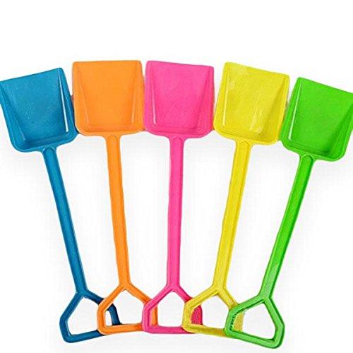 Snow Toys Shovel Childrens Beach Toys Colored Plastic ShovelColor Random
