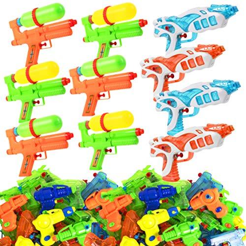 Narwhal Novelties Water Gun 50-Pack Squirt Gun Assortment Water Guns for Kids Squirt Guns for Kids