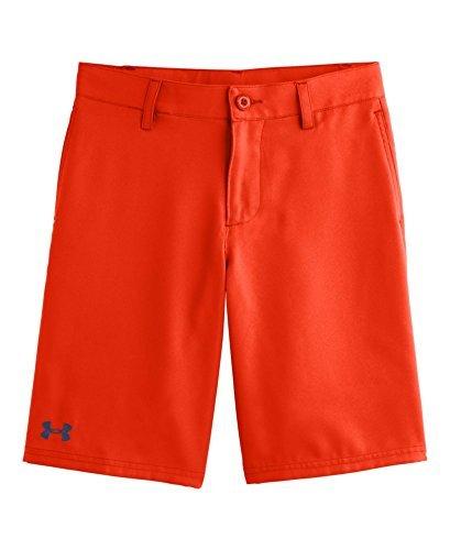Under Armour Big Boys UA Medal Play Golf Shorts Youth Medium Volcano Color VolcanoDEEP SPACE BLUE Size Medium Model