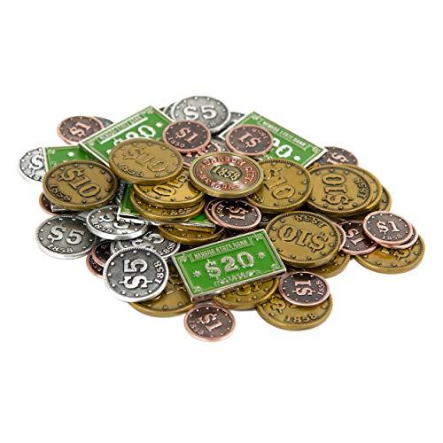 The Broken Token Carson City Metal Coins - Toy Money