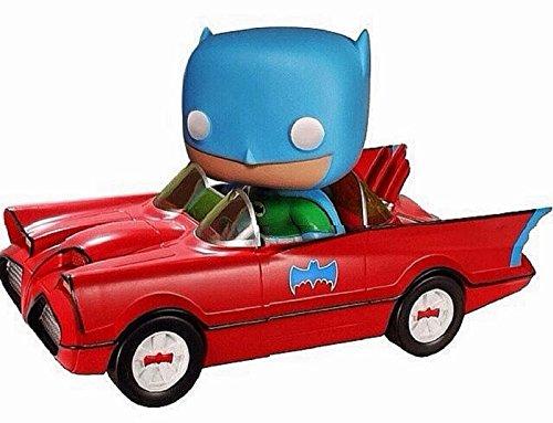 2014 Comic Con Funko Pop Toy Tokyo Red Batman Batmobile Limited Edition