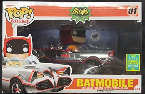 Funko Pop Rides 01 Chrome Batmobile SDCC Toy Tokyo 2016 Exclusive