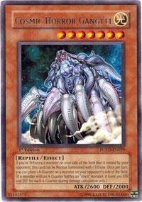 Yu-Gi-Oh - Cosmic Horror Gangiel POTD-EN029 - Power of the Duelist - Unlimited Edition - Rare by Yu-Gi-Oh