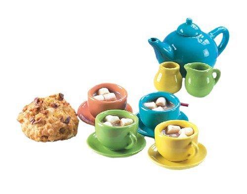 Small World Toys Living - Its a Party Porcelain 12-pc Miniature Tea Set