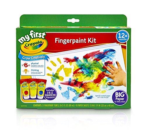 Crayola My First Finger Paint Kit Grow Creativeiy