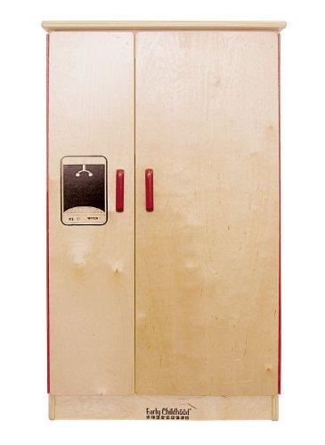 Offex Kids Birch Play Kitchen - Refrigerator