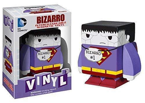 Bizarro ~16 DC Universe x Funko Vinyl Cubed Interchangeable Magnetic Figure by DC Universe Superman