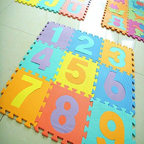 10 Pcsset Eva Foam Puzzle Play Floor Mat Carpet Baby Crawling Mats Pad For Children 28  28cm