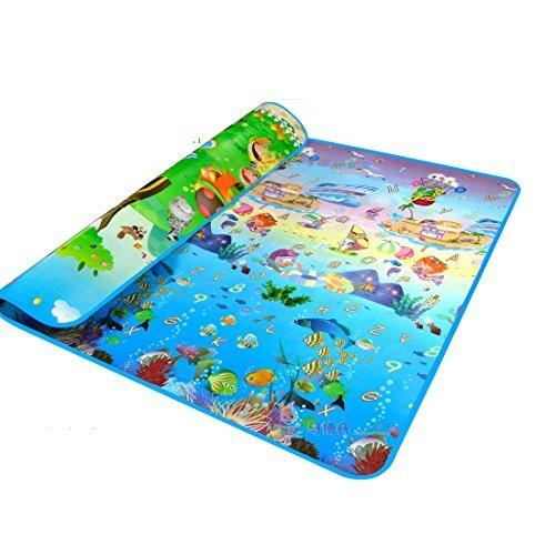 MaBoShi797102 Inches Extra Large Baby Crawling Mat Playmat Foam Blanket Rug by Garwarm