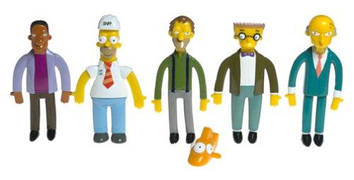 Bendables Simpsons Power Plant Collectible Boxed Set