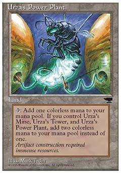 Magic the Gathering Urzas Power Plant 2 - Chronicles