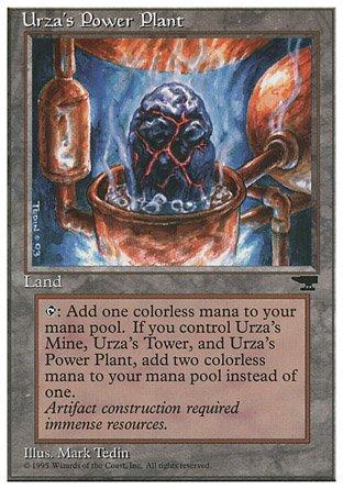Magic the Gathering Urzas Power Plant 4 - Chronicles