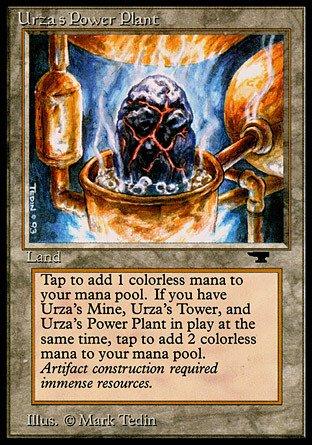 Magic the Gathering - Urzas Power Plant Rock in Pot - Antiquities