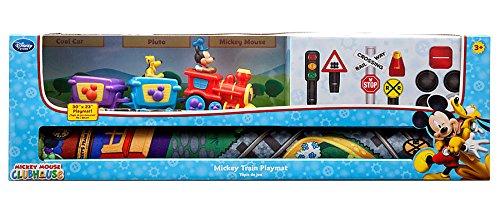 Disney Mickey Mouse Train Playmat Play Set