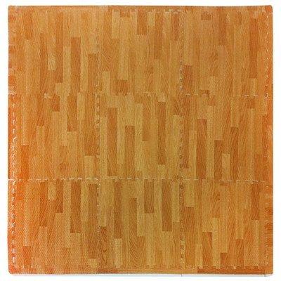 Tadpoles Wood Print Playmat Set Color Natural by Tadpoles