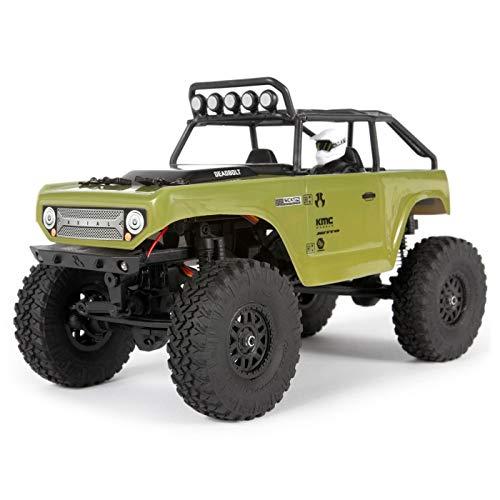 Axial 124 SCX24 Deadbolt 4WD Rock Crawler Brushed RTR Green AXI90081T2