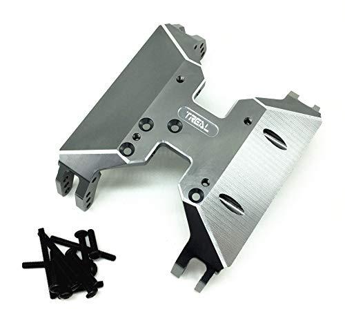 Treal Axial Capra Aluminum 19 Skid Plate Titanium