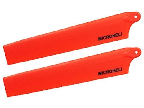 Microheli Plastic Main Blade 117mm ORANGE - MCPXBL