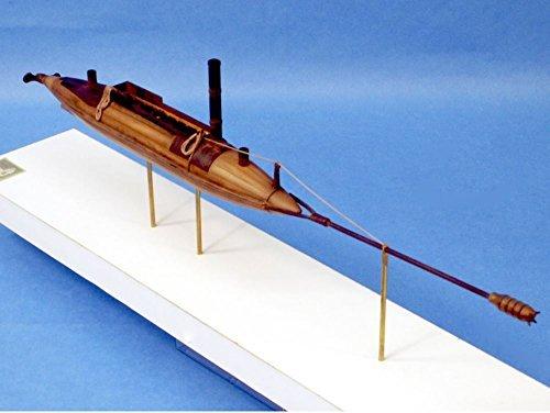 CSS David 172nd Scale Civil War Submarine Kit 72-002
