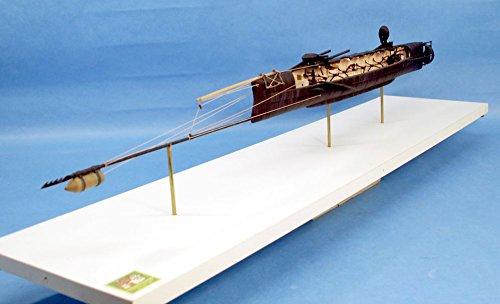 CSS Hunley 124th Scale Civil War Submarine Kit 24-001