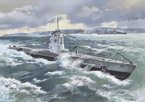 ICM Models U-Boat Type IIB 1939 German Submarine Building Kit