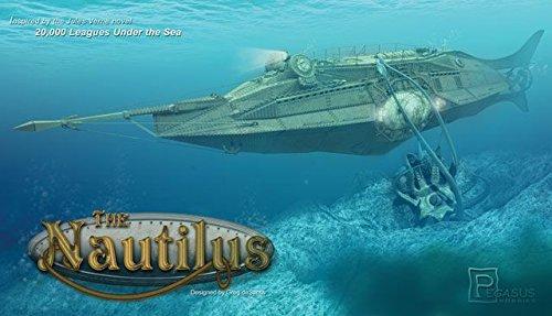 Qiyun Pegasus Hobby Jules Vernes Nautilus Submarine Kit in Scale 1 144 9120
