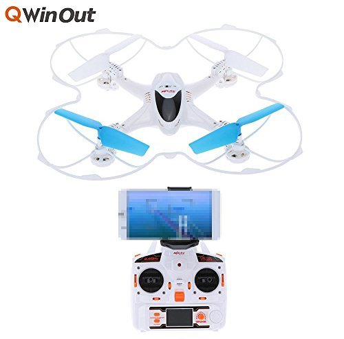 MJX X300C FPV RC Drone 24G 6 Axis Headless Mode RC UAV Quadcopter with built-in HD Camera Support Real-time Video