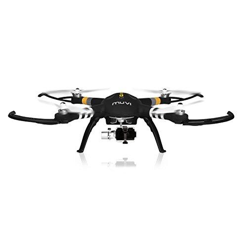 Veho Muvi Q-Series Q-1 Professional Aerial UAV Quadcopter Drone with Advanced 3-Axis Gimbal Black VQD-002-Q1