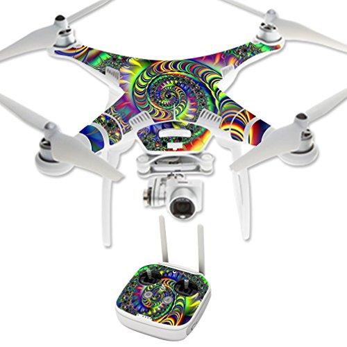 MightySkins Protective Vinyl Skin Decal for DJI Phantom 3 Professional Quadcopter Drone wrap cover sticker skins Acid