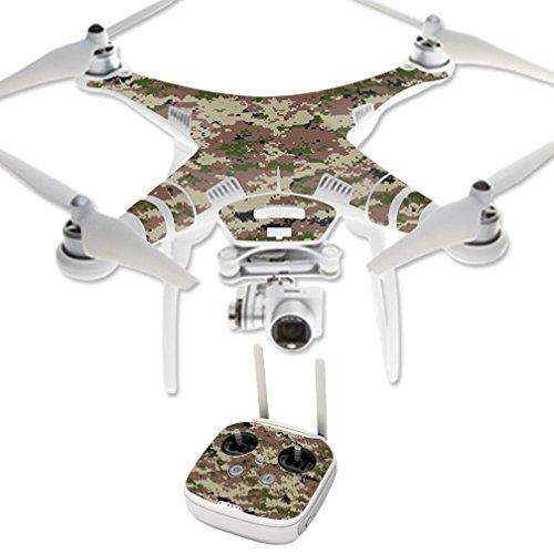 MightySkins Protective Vinyl Skin Decal for DJI Phantom 3 Professional Quadcopter Drone wrap cover sticker skins Urban Camo