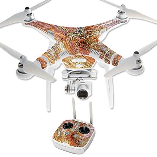 MightySkins Protective Vinyl Skin Decal for DJI Phantom 3 Professional Quadcopter Drone wrap cover sticker skins Woodlands