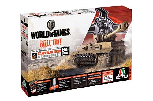 Italeri 56501 156 World of Tanks PzKpfwVI Tiger