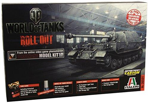 Italeri - World Of Tanks Roll Out Ferdinand - W36501