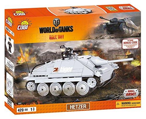 World of Tanks 3001 HETZER 420 building bricks by Cobi
