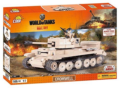 World of Tanks 3002 Cromwell 505 building bricks by Cobi
