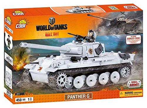 World of Tanks 3012 PZKPFW V Panther ausfG 1 450 building bricks by Cobi