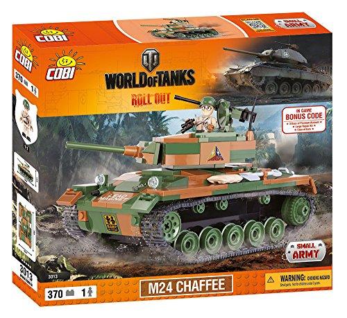 World of Tanks 3013 Light Tank M24 CHAFFEE 370 building bricks by Cobi