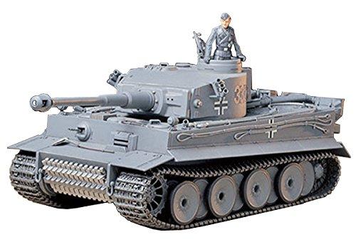 Tamiya 35216 135 Ger Tiger I Early Production Tank Plastic Model Kit