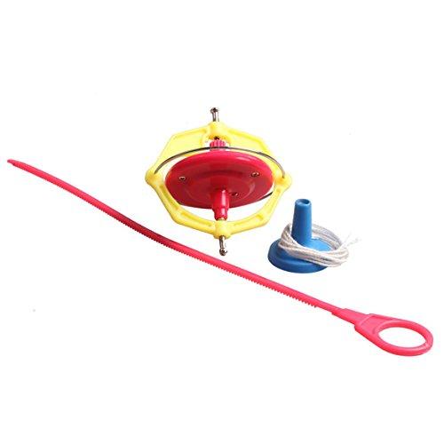 ACE Amazing Multifunctional Manual Whirlwind LED Music Gyroscope Toy Peg-Top