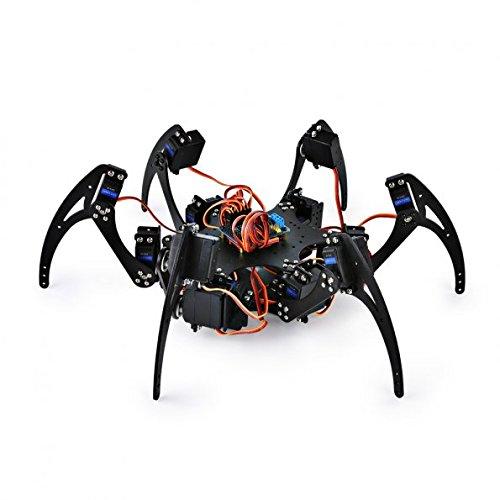 SainSmart Hexapod 6 Legs Spider Robot with SR318 Servo Motor Remote Control Control Board
