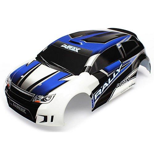 Traxxas Body Latrax Rally Blue PaintedDecals