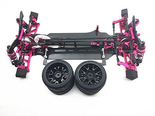 Jack-Store Carbon Alloy Carbon Chassis Frame BodyCar Frame Kit for SAKURA XIS 110 RC Touring Car