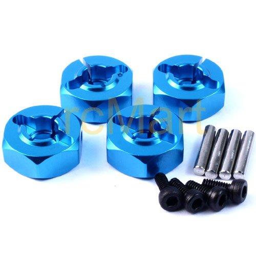 Yeah Racing Alloy Wheel Washer Set Thick 5mm BU For 110 RC Touring Car WA-015BU